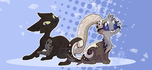 Cat Characters - need Names by JB-Pawstep