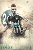 Remy Cabella //Newcastle United// by FLETCHER39