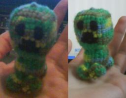 Creeper Amigurumi by AmunetRa