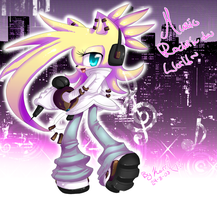 Music rocki'n da world AT by EvilQueenie
