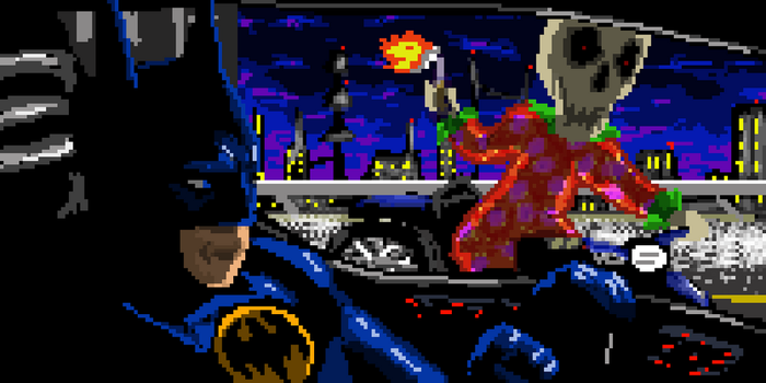 Batman Returns Banner by Solid-Pawn