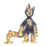 lava cat thing by HauntedHomo