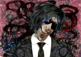 The Grinner Contest Entry--Emo Graffiti Style by mmpratt99