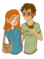 Clary and Simon by Magigingercal