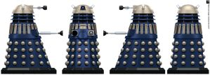 Time War Eternity Circle Dalek by Librarian-bot