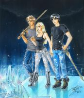 C: Cristal Tokyo Warriors by Cat-with-dark-eyes