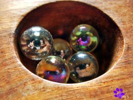 Shiny Marbles (14.06.13) by LacedShadowDiamond