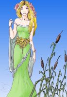 Goldberry the River Daughter by datoria
