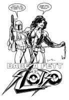 Babe-a-Fett and Slobo by Bambs79