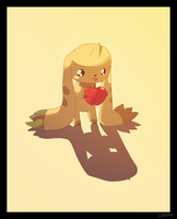 Terriermon by cappydarn