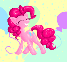 Party with Pinkie by Tami-Kitten
