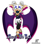Rouge The Bat (Boom!) by MentalMyles