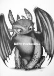 Toothless Drawing by Shinymane1