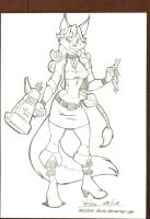 Carmelita Fox. by Drawing-4Ever