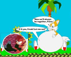 Tails Crush On Fiona by Kphoria