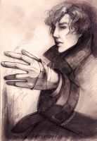 Sherlock .String of thoughts. by ItanHimitsu