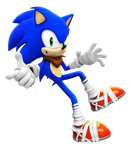 Sonic Boom Sidling Pose! by NIBROCrock