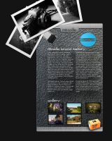 Minolta Fan Website by TuxXtreme