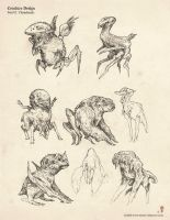 Lil critter doo dads by MIKECORRIERO