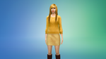 Humanized Chica (Sims 4) by Red-Riley