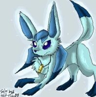 Glaceon by Plaid-pichu
