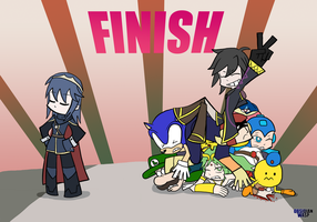 SSB4 - TIME TO TIP THE SCALES! by ObsidianWasp