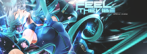 Vocaloid: Feel the Vibe by JamesxpGFX