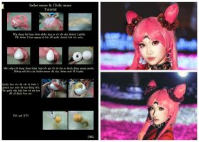DIY - Black Lady 's Wig , Sailor Moon's wig by MonicaWos