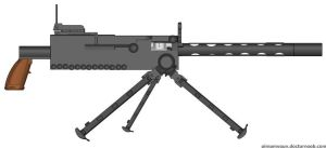 Weapon Request: Browning M1919 for Chalk433 by Super6-4