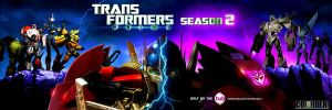 Transformers Prime season 2 poster edit by Galaxywarriess1234