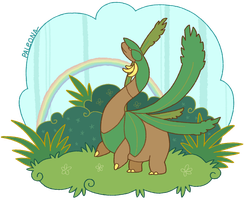tropical sauropod by Paleona