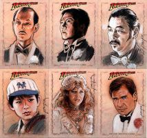 Temple of Doom sketch cards 2 by jasonpal