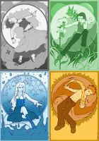 The Four Elements by Rvaya