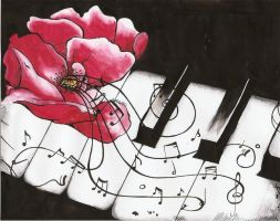 Essence Of Piano by EvaHolder