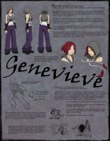 DL- Genevieve Reference Sheet by sapphire-feather