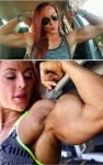 Katie Before and After Years of Muscle Training by Turbo99