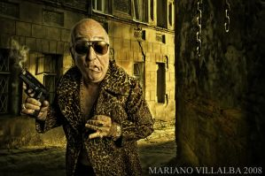 THE ITALIAN GANGSTER by mariano7724