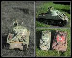 Sherman Tank 1/16 by FarawayPictures