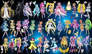 Precure All Stars by Ghost-Hunter157