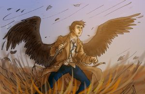 Cas put down that thing you're gonna hurt someone by hollyoakhill