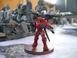 Infinity the Game: Yu Jing, Yan Hou WIP by SephKnight