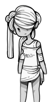 [ SOLD ] Marble Girl by Sergle