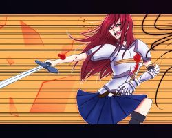 Fairy Tail - Erza Scarlet by Noxism