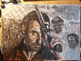 wip walking dead by FDupain