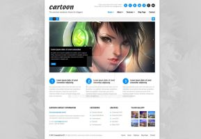 Cartoon BLOG Wordpress Theme by ait-themes