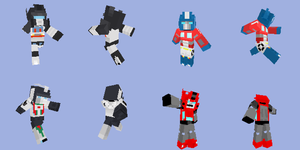 Minecraft Transformers Skins 2 by Unconceivable