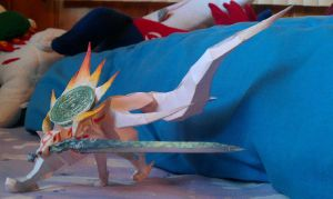 Amaterasu papercraft by Horsegirl71496