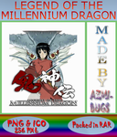 Legend of the Mellenium Dragon - Anime icon by azmi-bugs