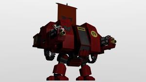 Warhammer Dreadnought in blender by treoni