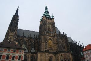 St. Vitus Cathedral II by Dorian-Gray7